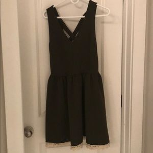 Altar'd State green dress, gently used, size small